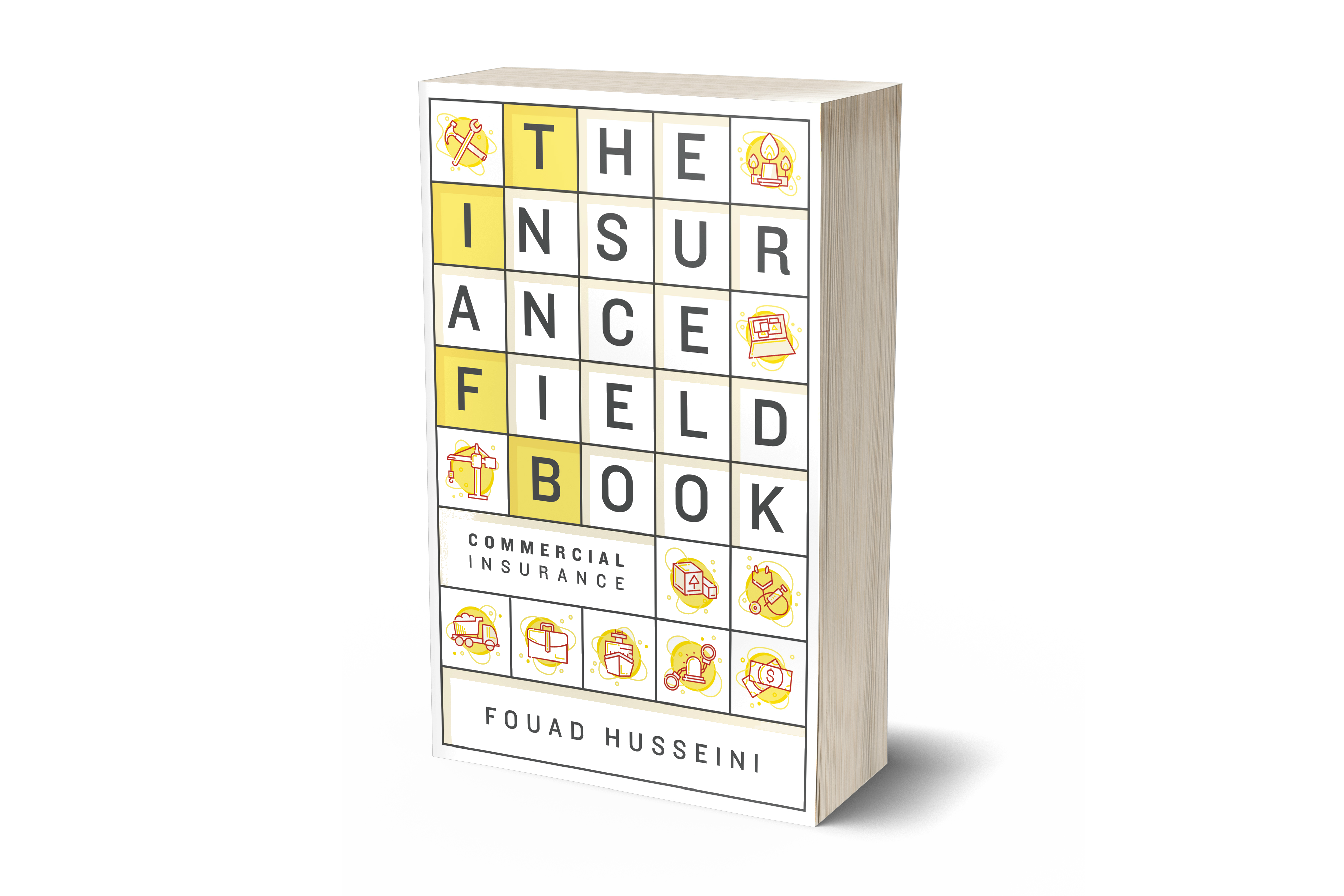 the insurance field book by Fouad Husseini
